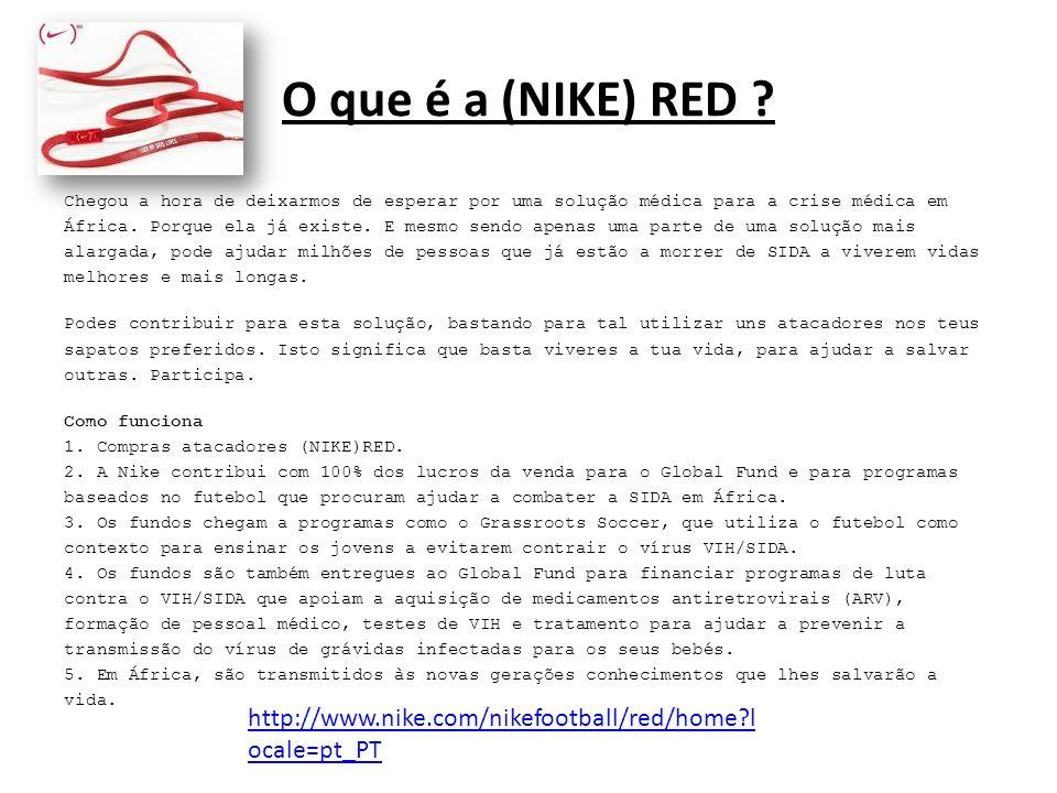 O que é a (NIKE) RED