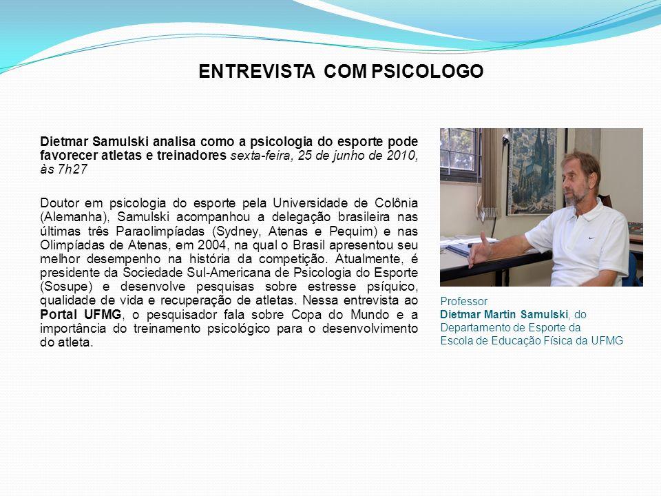 ENTREVISTA COM PSICOLOGO
