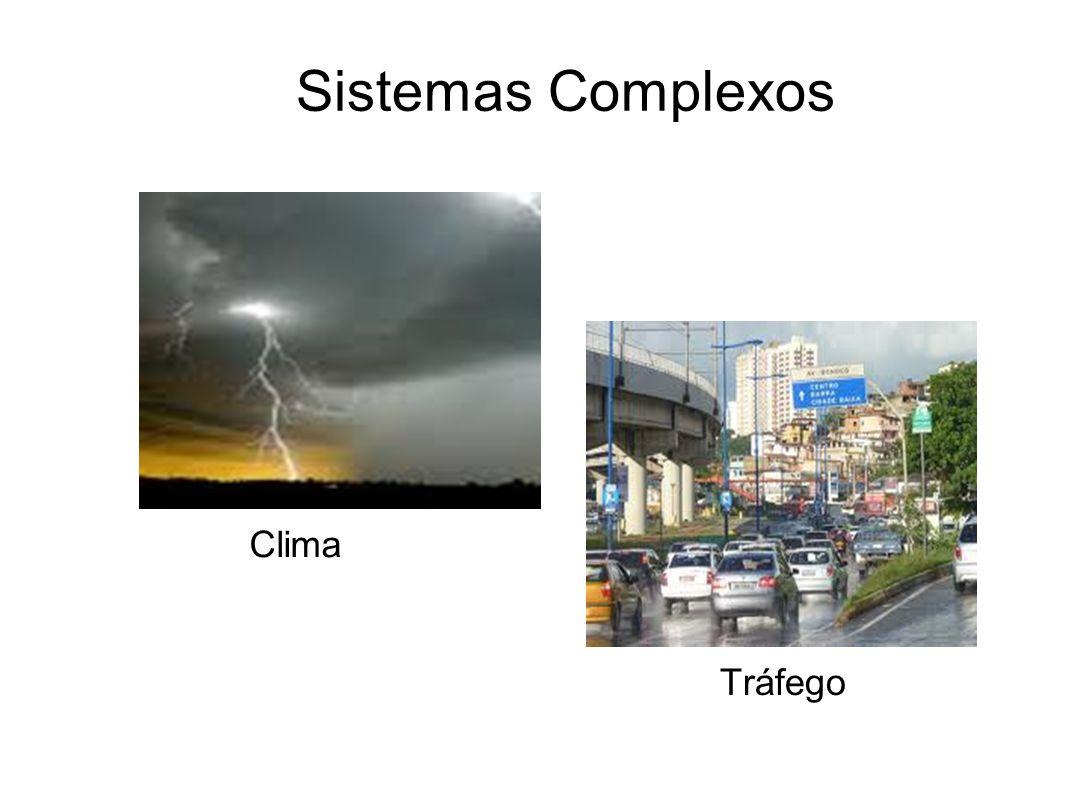 Sistemas Complexos Clima Tráfego
