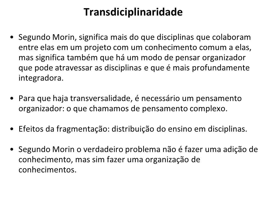 Transdiciplinaridade