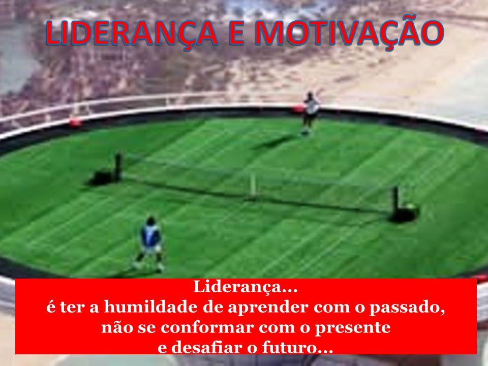 LIDERANÇA E MOTIVAÇÃO Liderança...