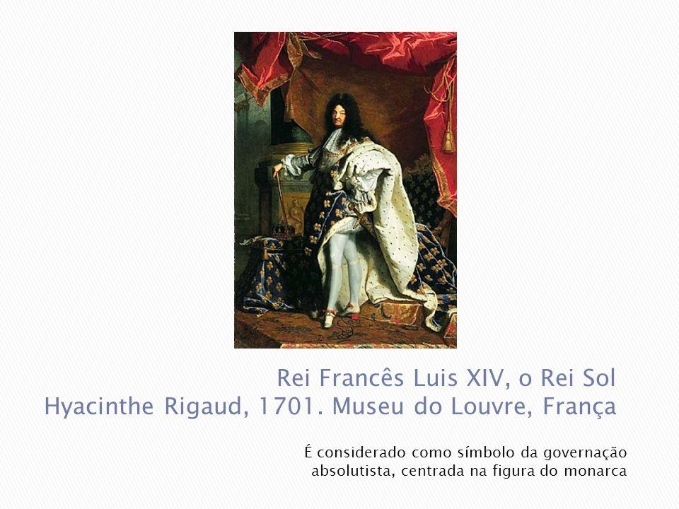 Rei Francês Luis XIV, o Rei Sol Hyacinthe Rigaud, 1701