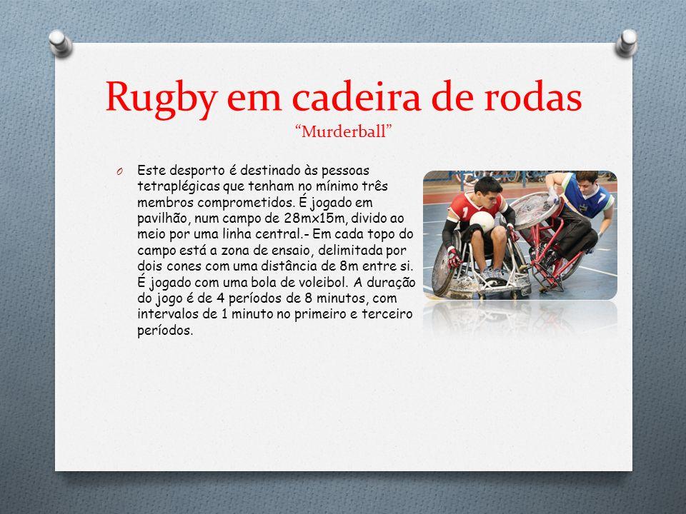 Rugby em cadeira de rodas Murderball