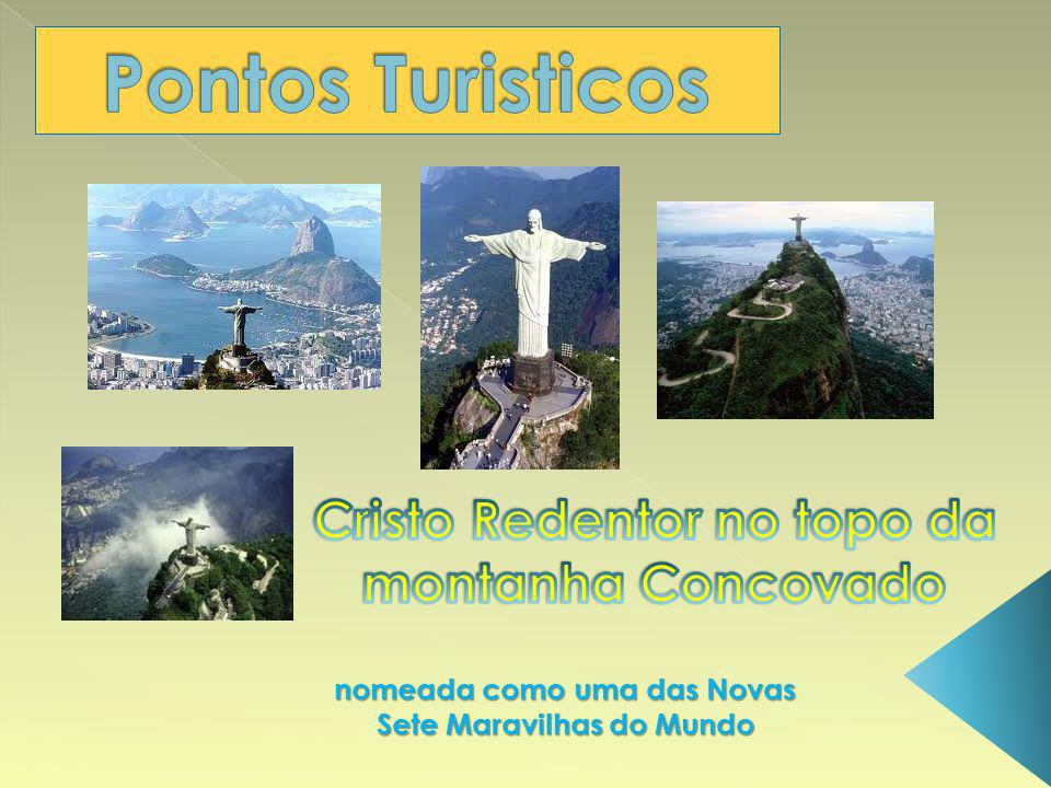 Cristo Redentor no topo da montanha Concovado