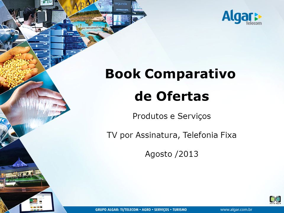 Produtos e Serviços TV por Assinatura, Telefonia Fixa Agosto /2013