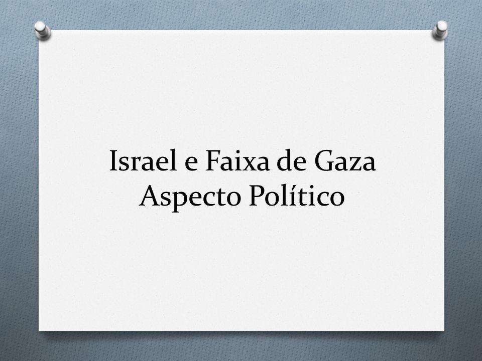 Israel e Faixa de Gaza Aspecto Político