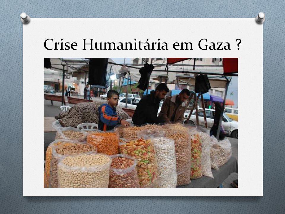 Crise Humanitária em Gaza