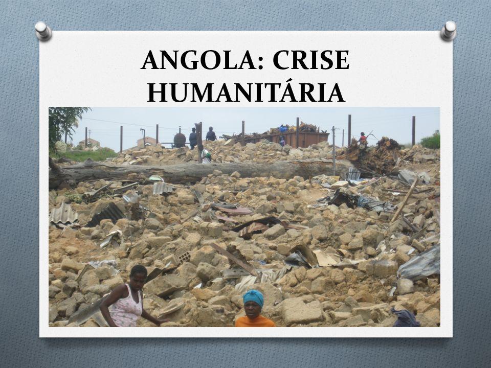 ANGOLA: CRISE HUMANITÁRIA