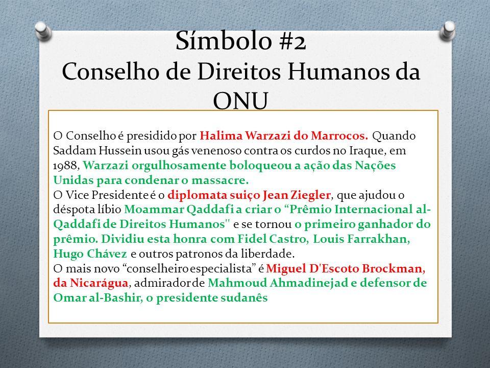 Símbolo #2 Conselho de Direitos Humanos da ONU