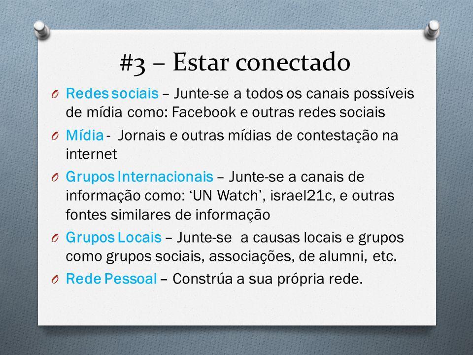 #3 – Estar conectado Redes sociais – Junte-se a todos os canais possíveis de mídia como: Facebook e outras redes sociais.