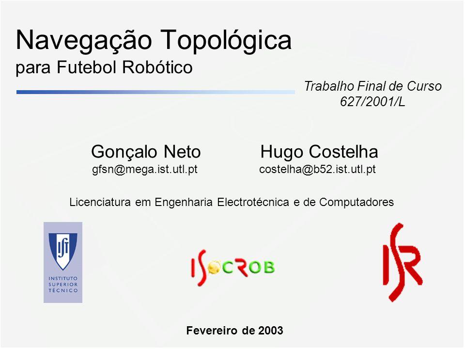 Navegação Topológica para Futebol Robótico