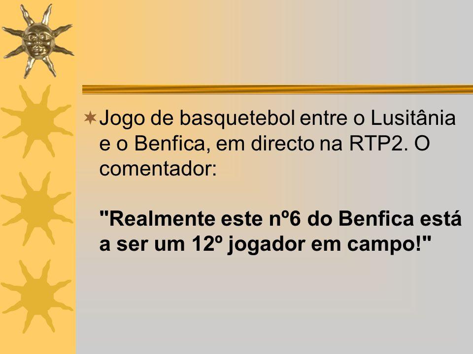 Jogo de basquetebol entre o Lusitânia e o Benfica, em directo na RTP2