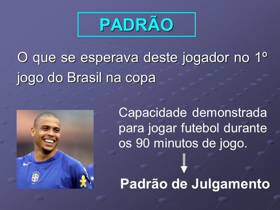 PADRÃO O que se esperava deste jogador no 1º jogo do Brasil na copa