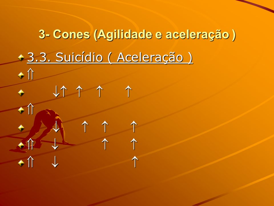 3- Cones (Agilidade e aceleração )