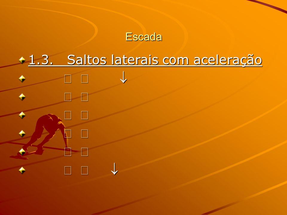 1.3. Saltos laterais com aceleração     