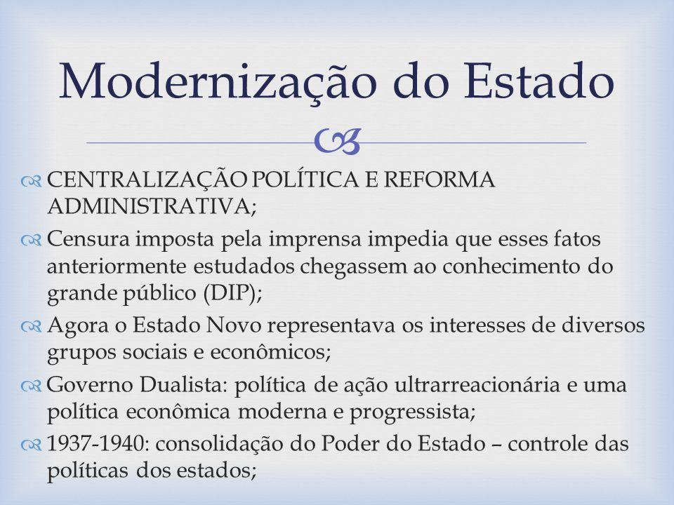 Modernização do Estado