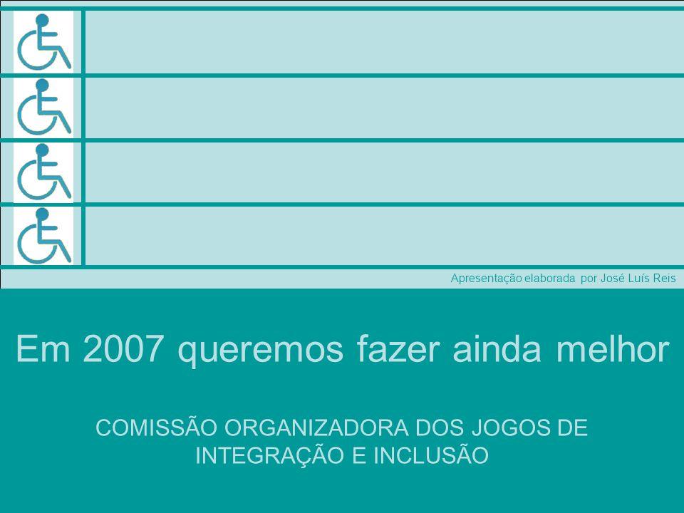 COMISSÃO ORGANIZADORA DOS JOGOS DE INTEGRAÇÃO E INCLUSÃO