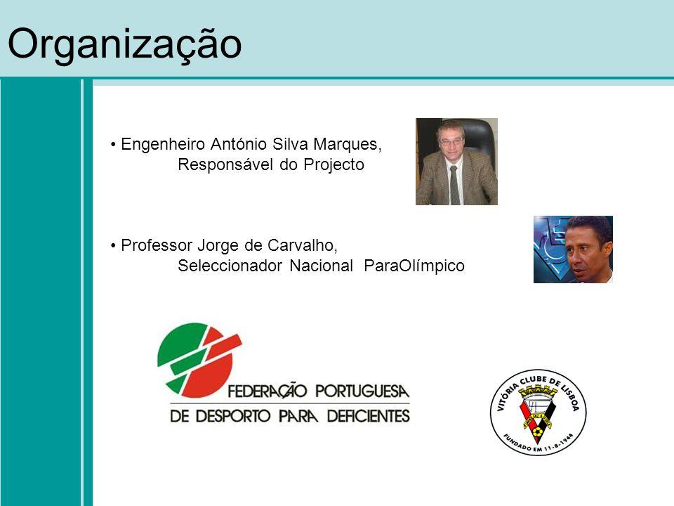 Organização Engenheiro António Silva Marques, Responsável do Projecto