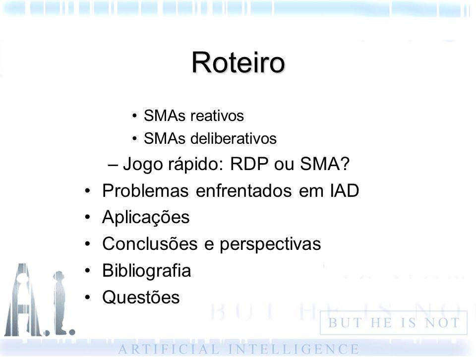 Roteiro Jogo rápido: RDP ou SMA Problemas enfrentados em IAD