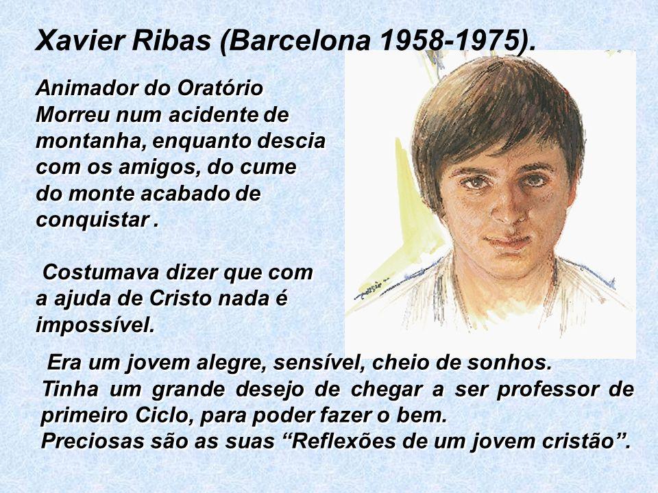 Xavier Ribas (Barcelona 1958-1975).