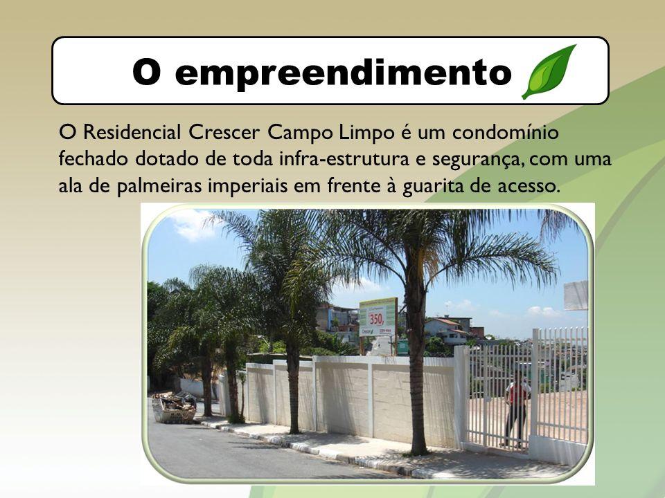 O bairro O empreendimento.
