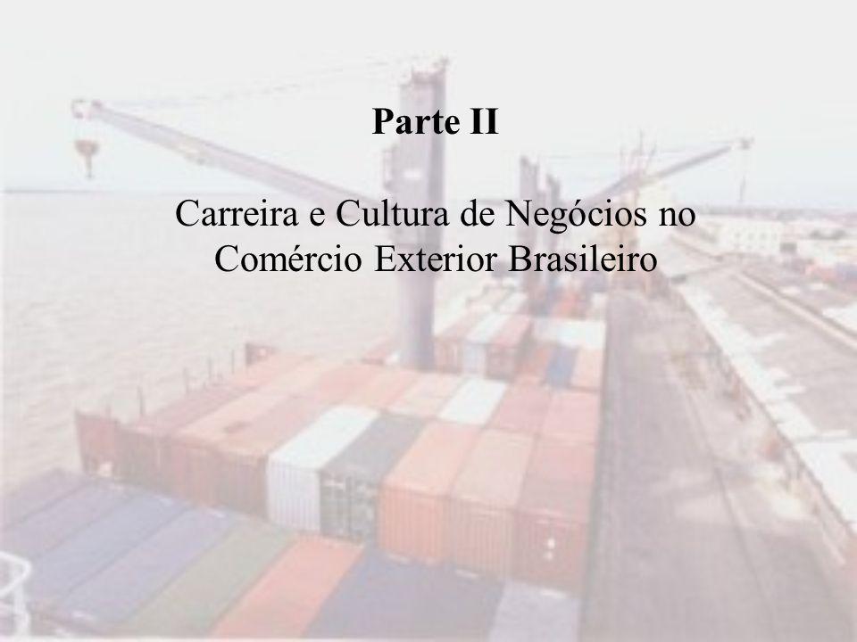 Carreira e Cultura de Negócios no Comércio Exterior Brasileiro