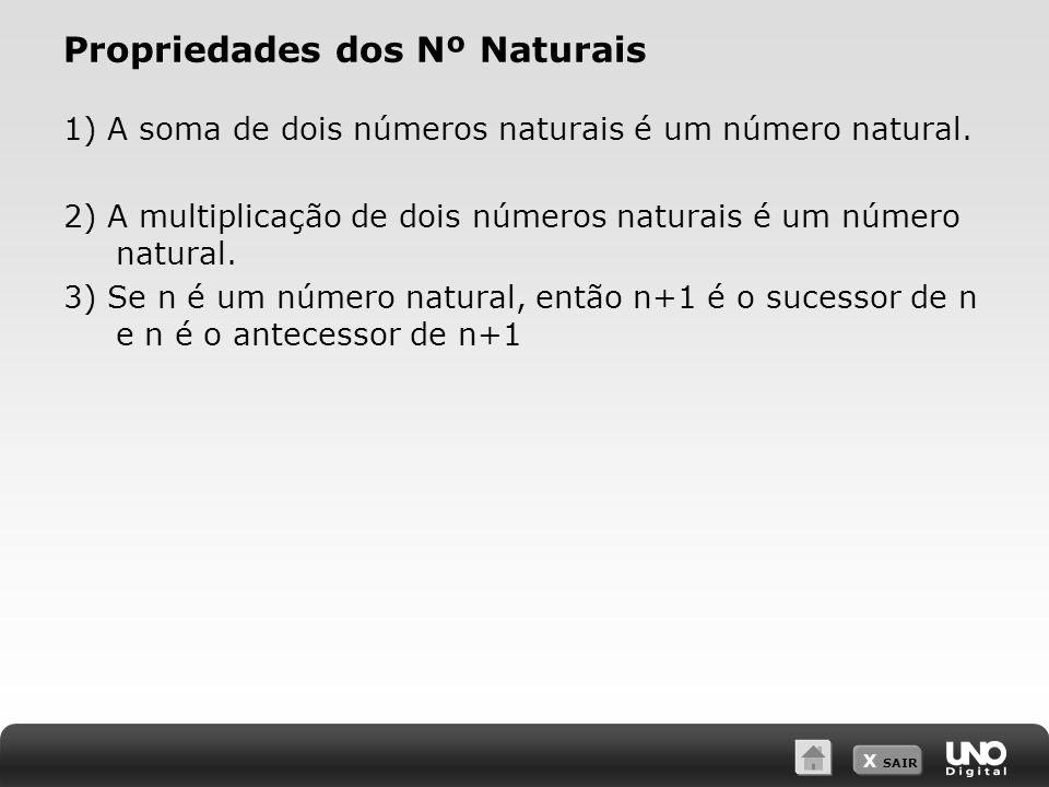Propriedades dos Nº Naturais