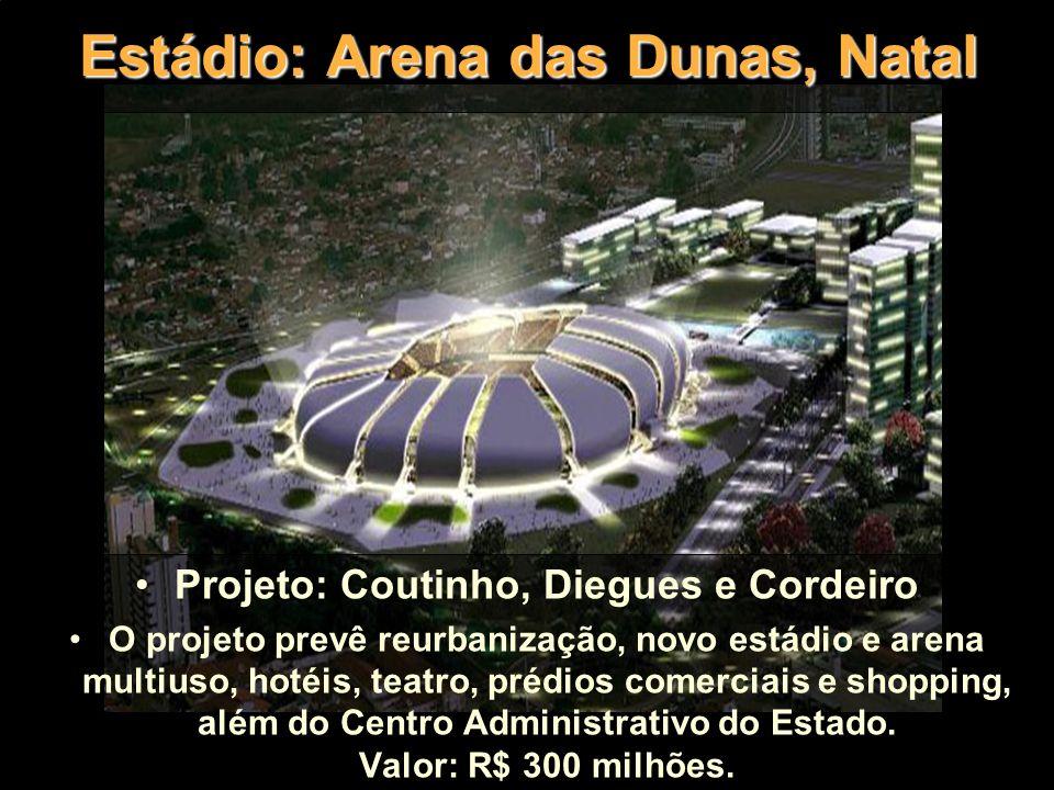 Estádio: Arena das Dunas, Natal