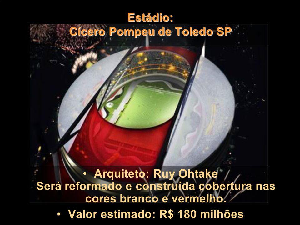 Estádio: Cícero Pompeu de Toledo SP