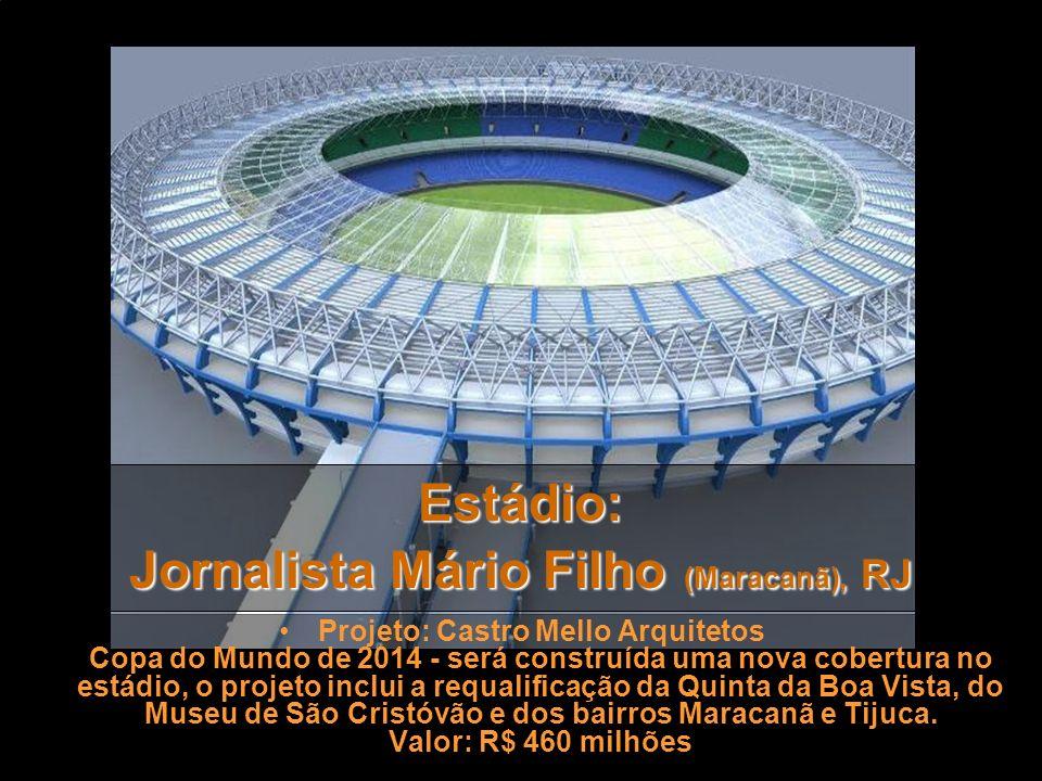 Estádio: Jornalista Mário Filho (Maracanã), RJ