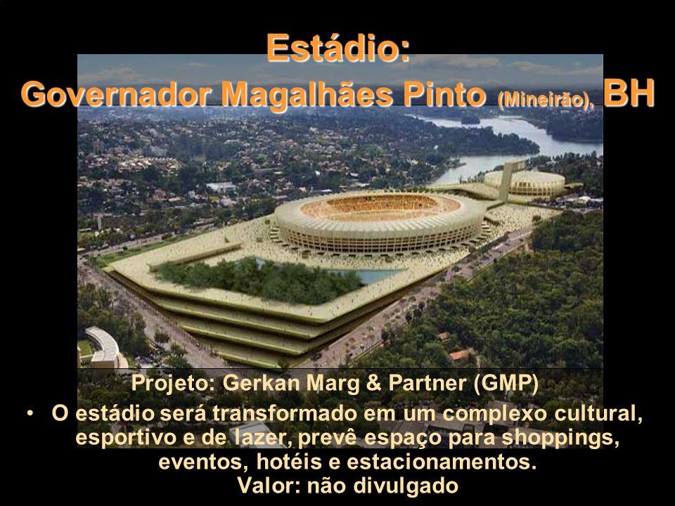 Estádio: Governador Magalhães Pinto (Mineirão), BH