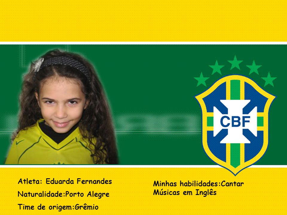 Atleta: Eduarda Fernandes