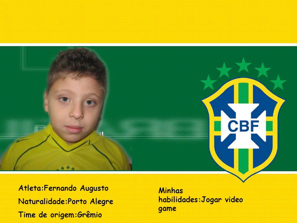 Atleta:Fernando Augusto