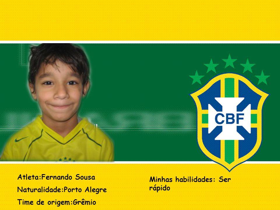 Atleta:Fernando Sousa
