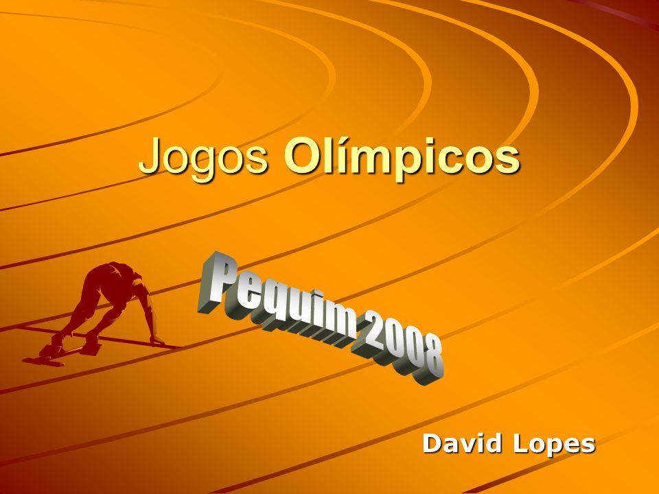 Jogos Olímpicos Pequim 2008 David Lopes