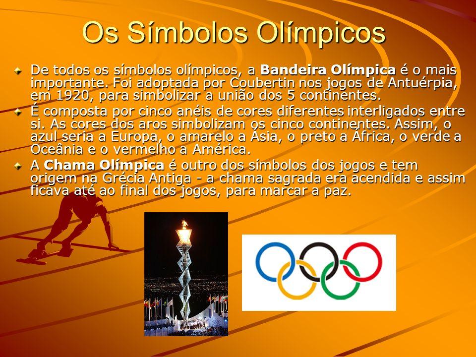 Os Símbolos Olímpicos