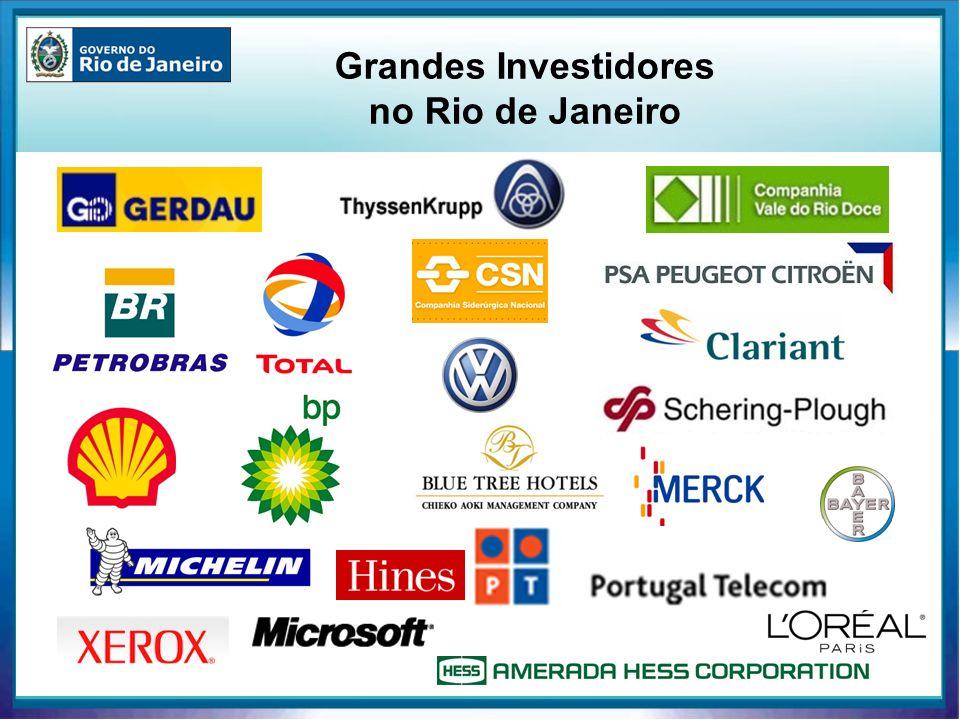 Grandes Investidores no Rio de Janeiro