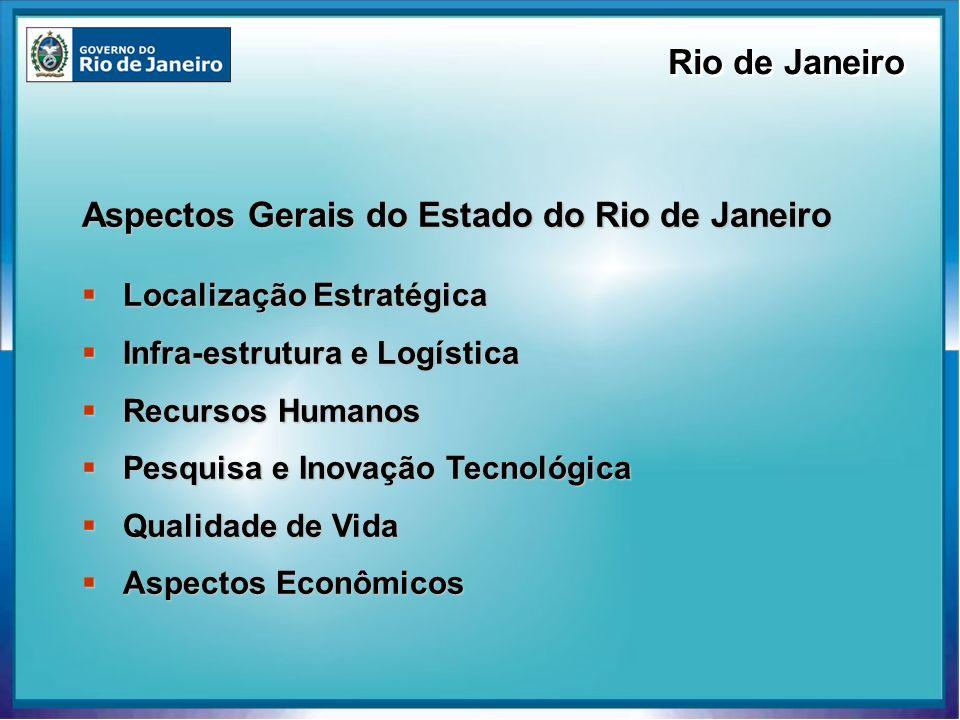 Aspectos Gerais do Estado do Rio de Janeiro