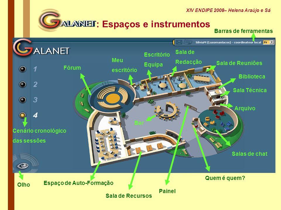 : Espaços e instrumentos