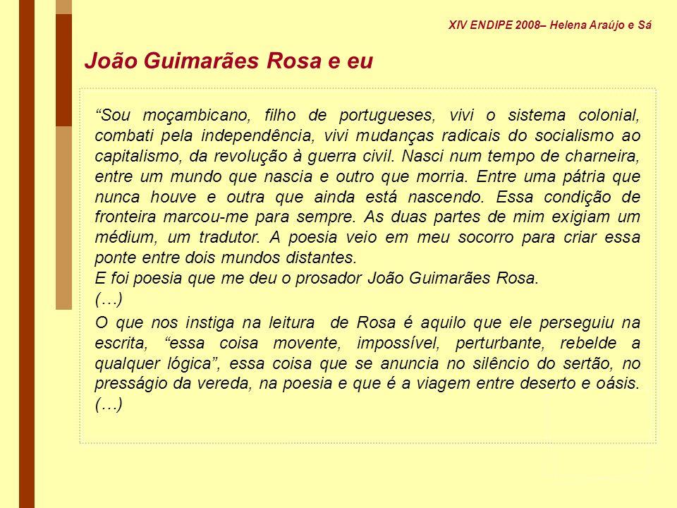 João Guimarães Rosa e eu