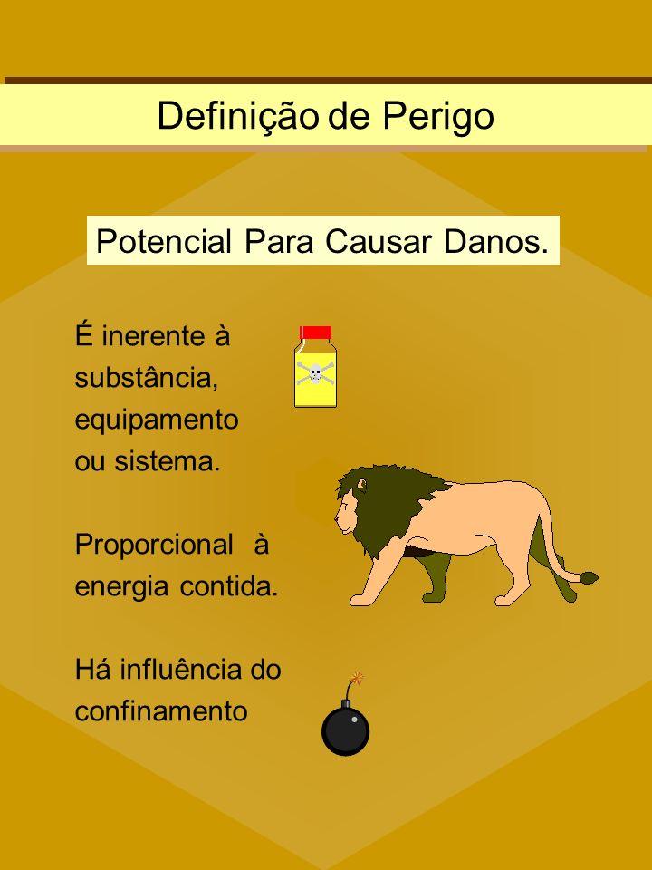 Definição de Perigo Potencial Para Causar Danos.