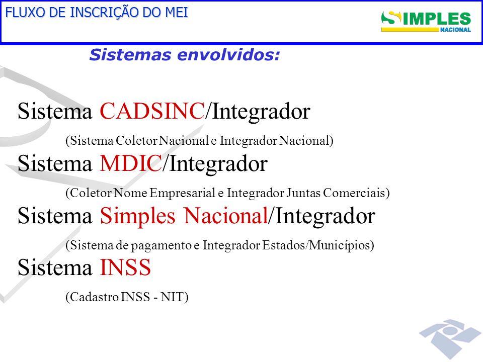 Sistema CADSINC/Integrador