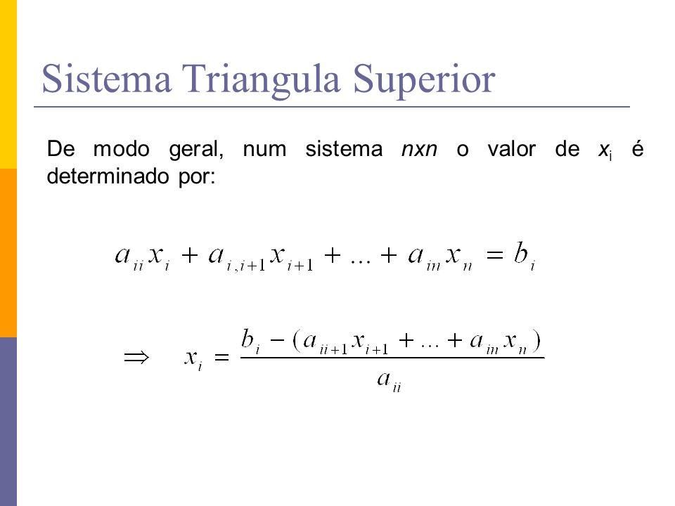 Sistema Triangula Superior