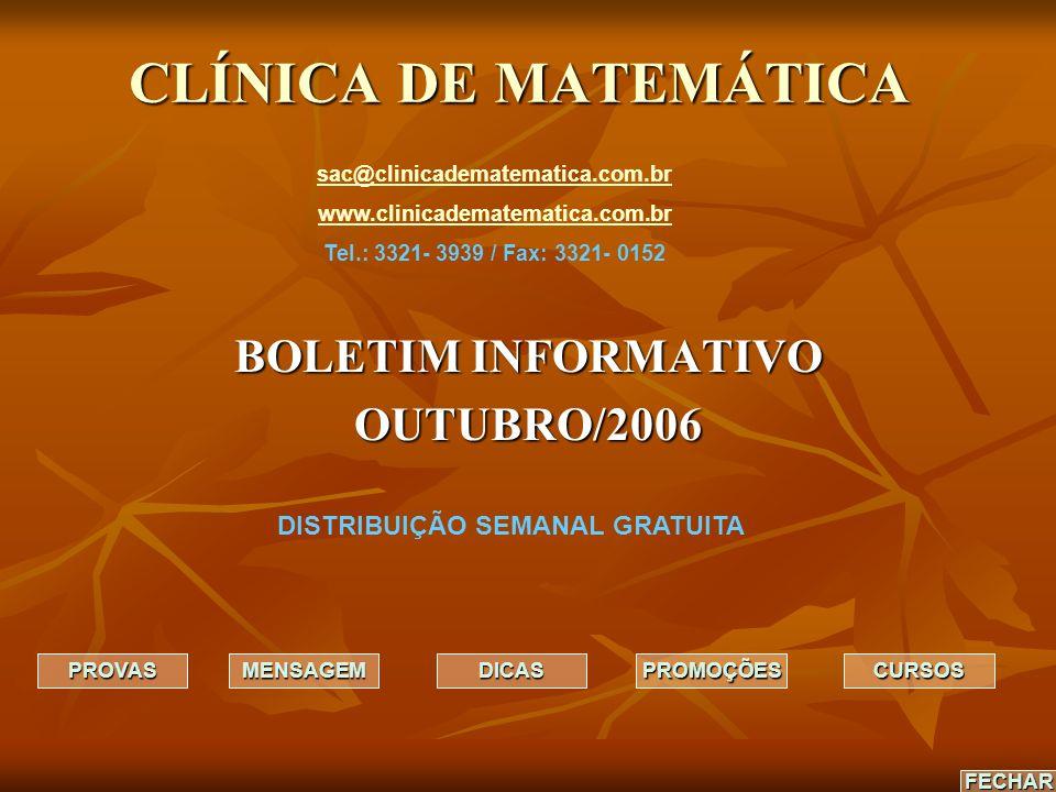 BOLETIM INFORMATIVO OUTUBRO/2006