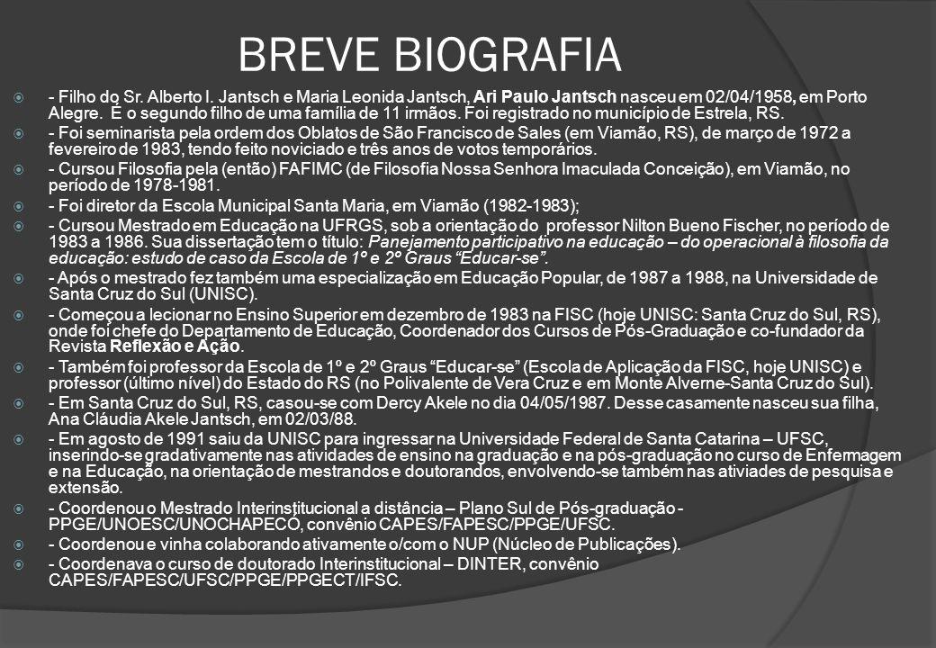 BREVE BIOGRAFIA