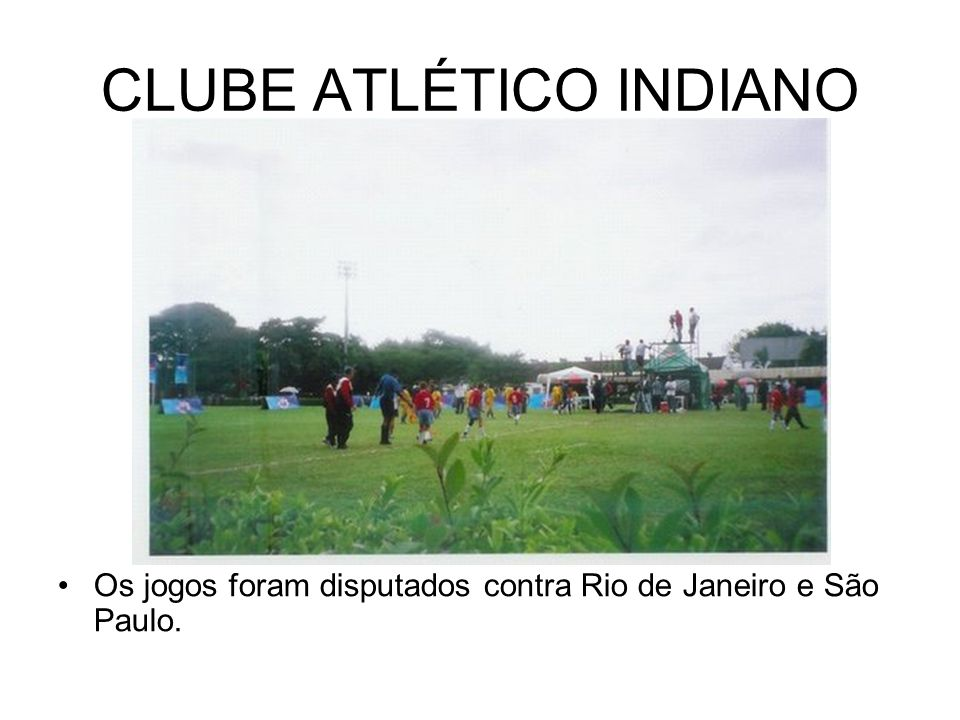CLUBE ATLÉTICO INDIANO