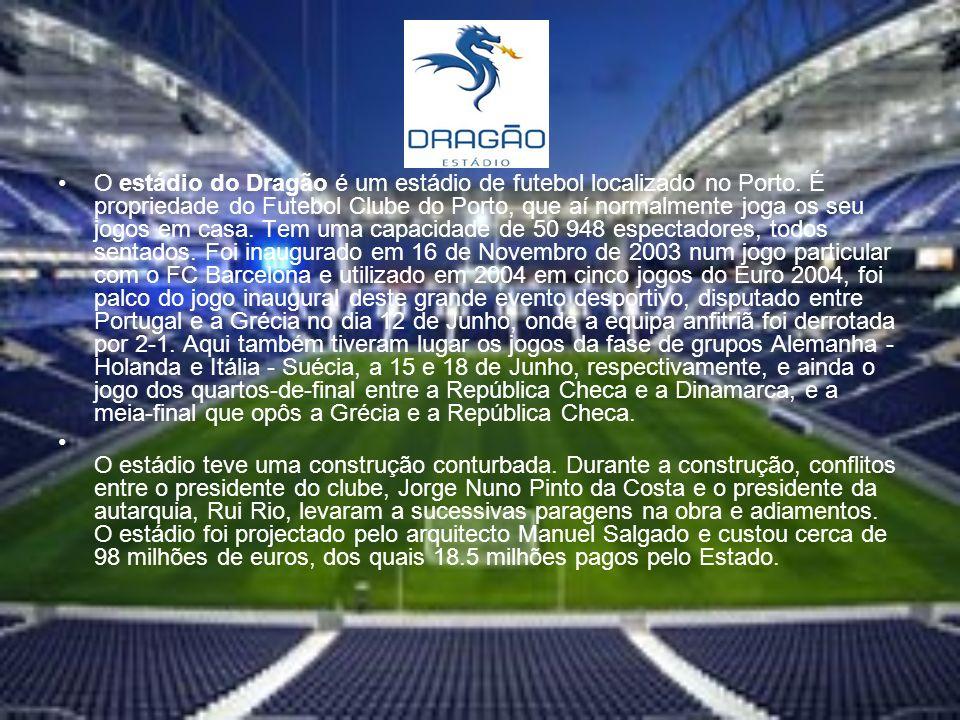 O estádio do Dragão é um estádio de futebol localizado no Porto