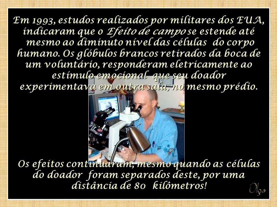 Em 1993, estudos realizados por militares dos EUA,