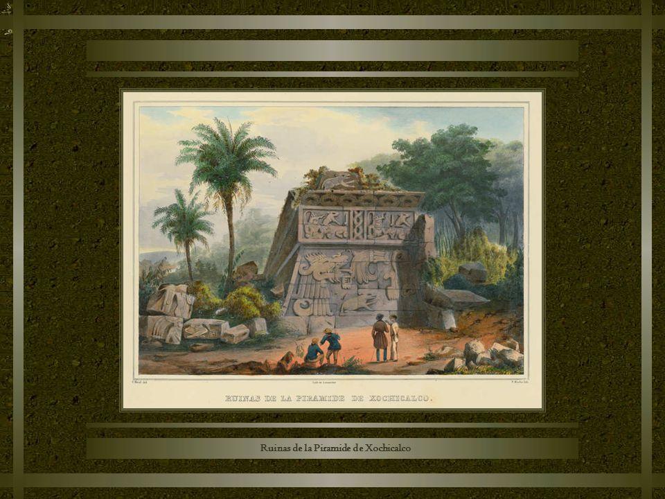 Ruinas de la Piramide de Xochicalco