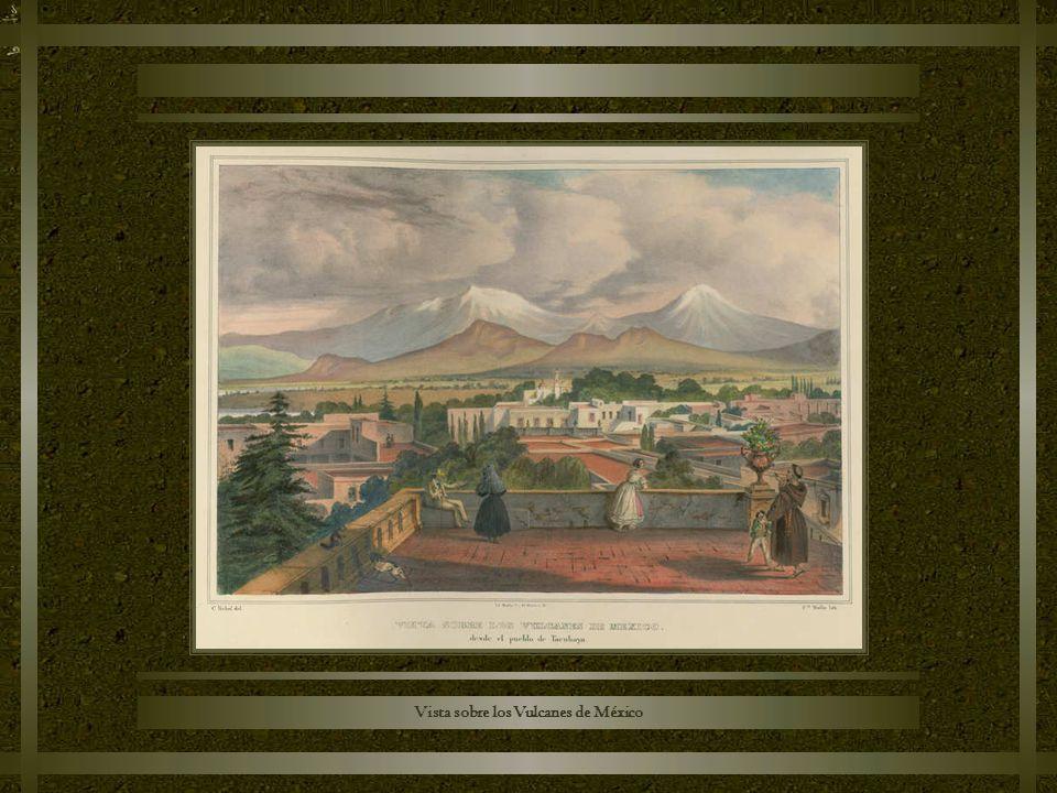 Vista sobre los Vulcanes de México